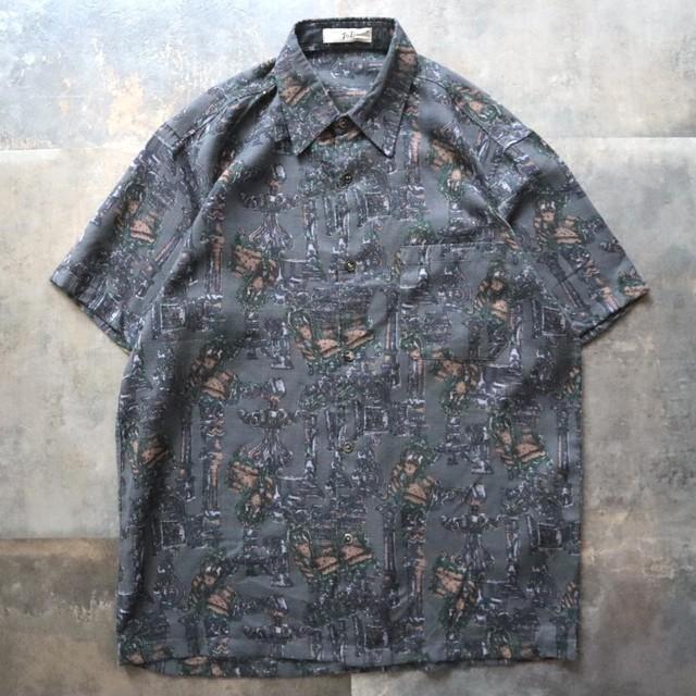 pattern all over art design shirt