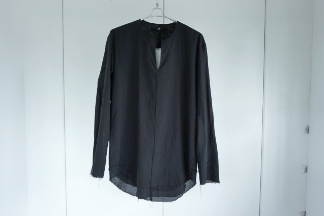 ASKYY / Layered tunic shirts / BLK