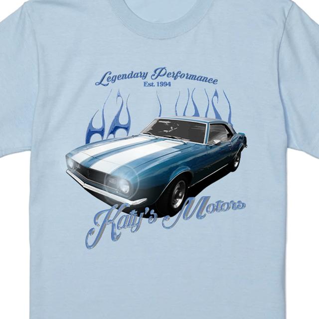 【Cat & Parfum】Katy's Motors Classic Souvenir Long Sleeve