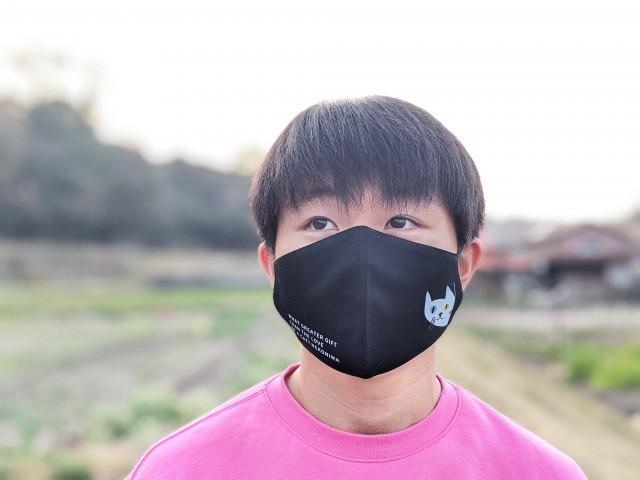 【NEW】にゃーろんマスク 3枚セット ≪全国送料無料≫ 選べる24パターン!!