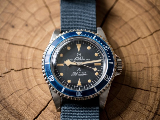 【限定】WMT WATCH Royal Marine – Broad Arrow Edition ( Aged )