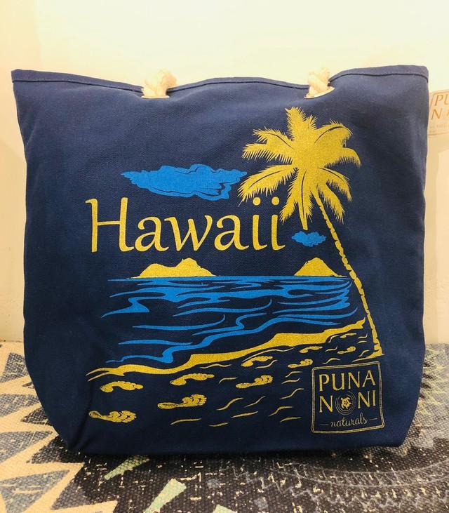 [WHOLE FOODS×PUNA NONI] HAWAII SURF コラボトートバッグ