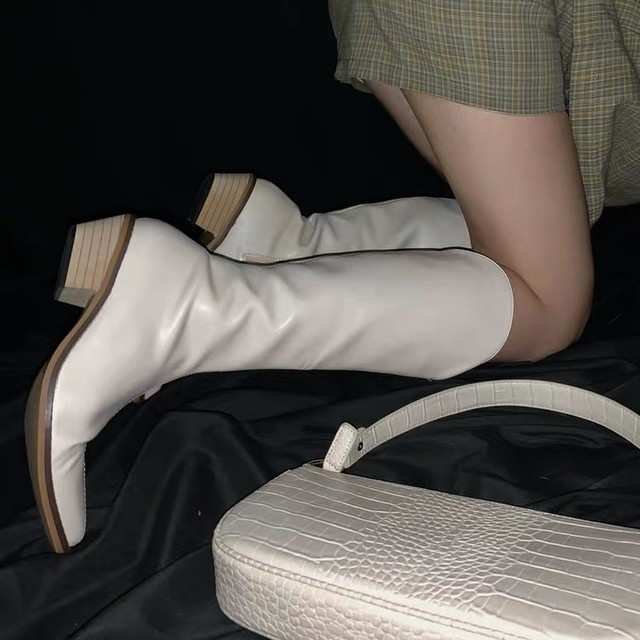 leather knight boots 3c's