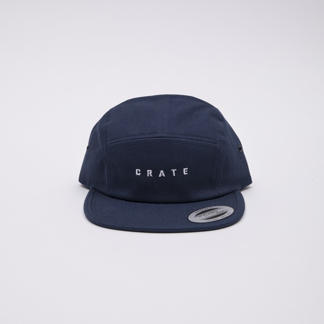 Crate Logo Cap - Red -