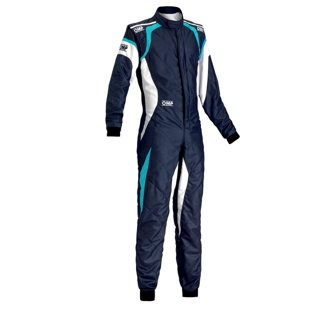 IA01851244 ONE EVO SUIT NAVY BLUE/CYAN/WHITE