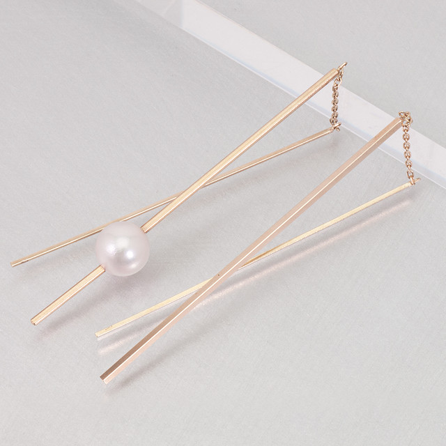 Stick Earrings / Pearl