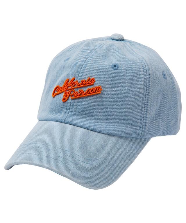 DENIM NEON LOGO CAP[REH103]