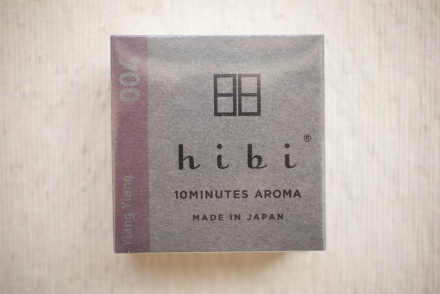 hibi アロママッチ(イランイラン)