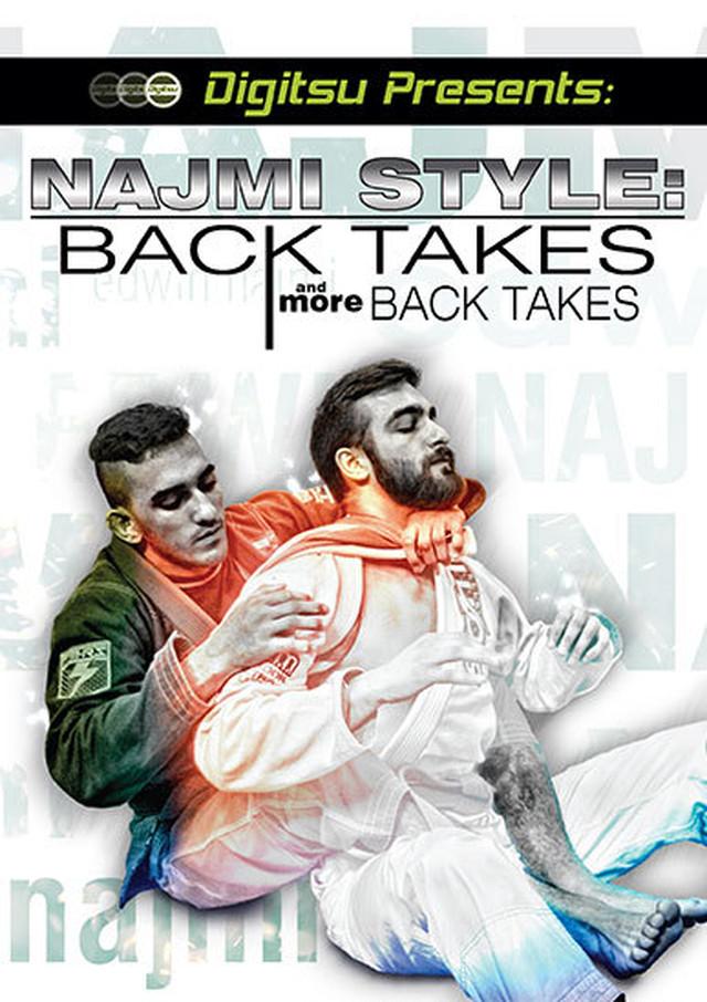 エドウィン・ナジミ バックテイクス&モアバックテイクスDVD|ブラジリアン柔術教則DVD EDWIN NAJMI BACK TAKES AND MORE BACK TAKES DVD