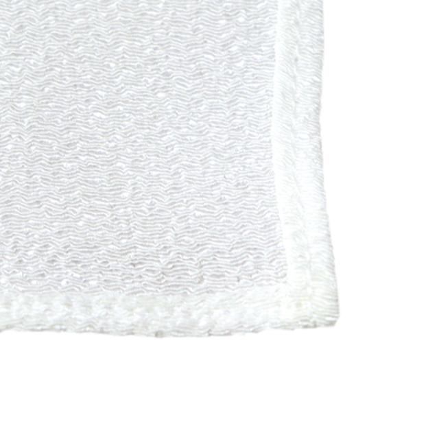和柄家紋と華White Pink 風呂敷スカーフ