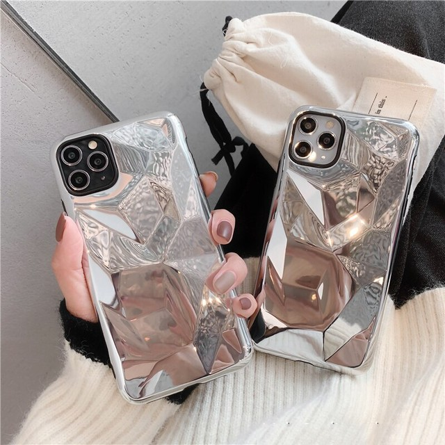 【オーダー商品】 Galvanized mirror iphone case
