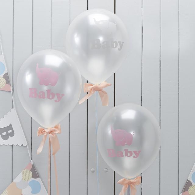 【ベビーシャワー】Baby★バルーン (10個入) (MJLO508)
