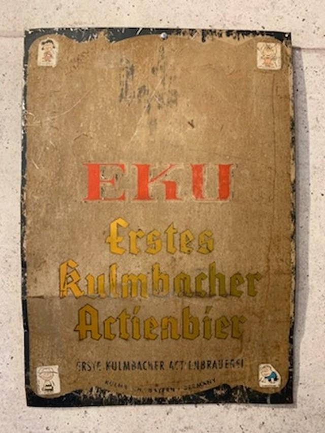 品番1182 ドイツの看板 / Signage 011
