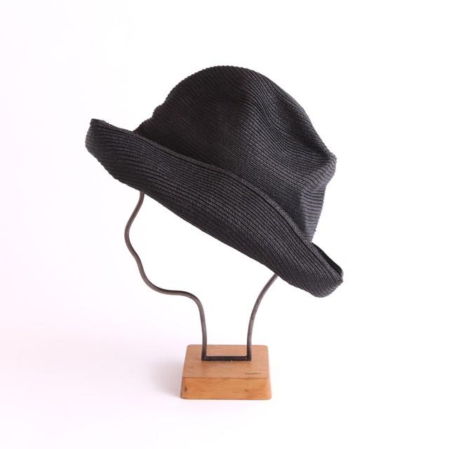 mature ha./BOXED HAT 101 black