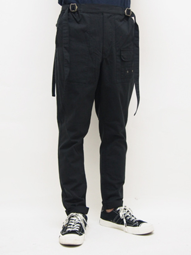 EGO TRIPPING (エゴトリッピング) HANG TROUSERS / BLACK   623301-05