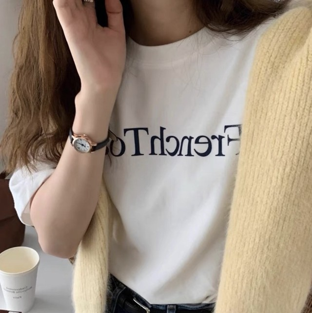 french toast tee / Tシャツ / ホワイト / LE-13