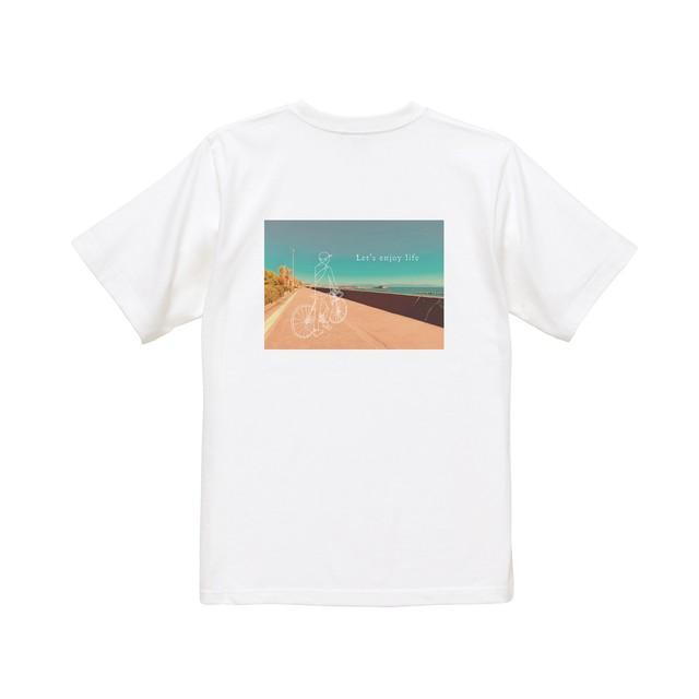 フォト(beach)半袖 白