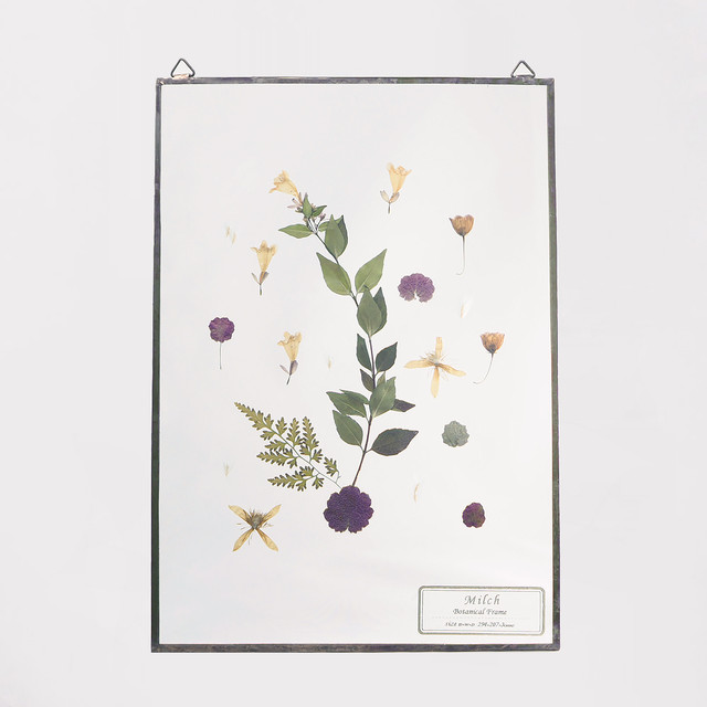 Botanical Frame L022 - Gold