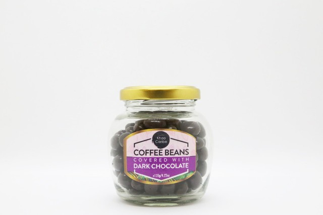 KHAO CARIBE コーヒー豆チョコレートカバード(カカオ56%)