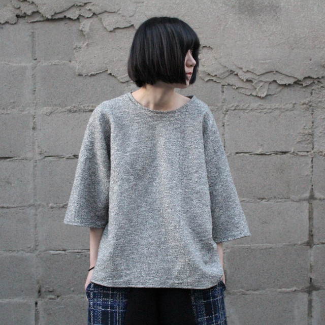 Kimono-T-shirts (light grey)