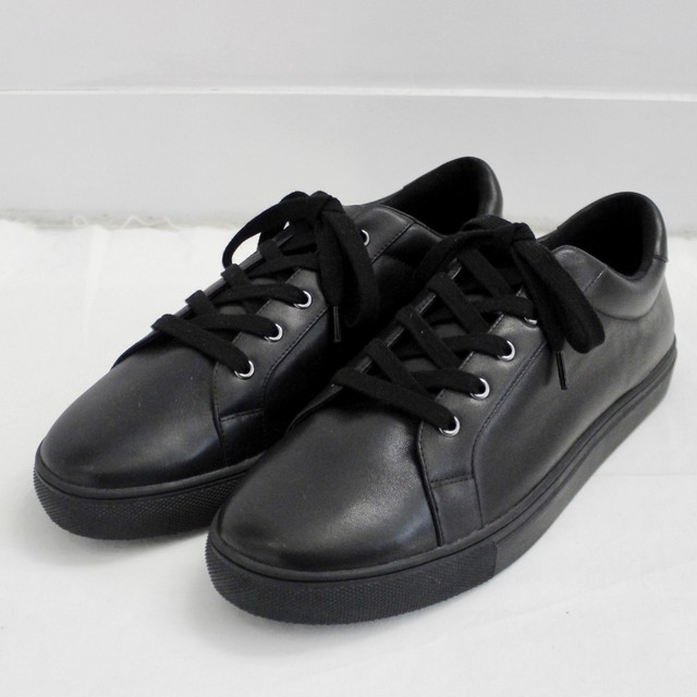 【 Maison U 】calf leather sneaker black