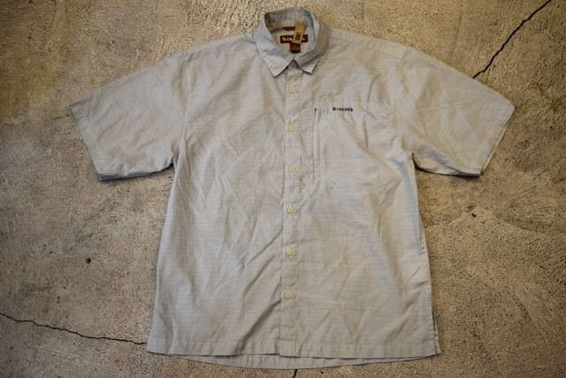 USED SIMMS S/S shirt M S0171