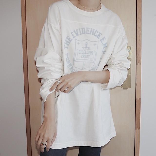 logo long T-shirt