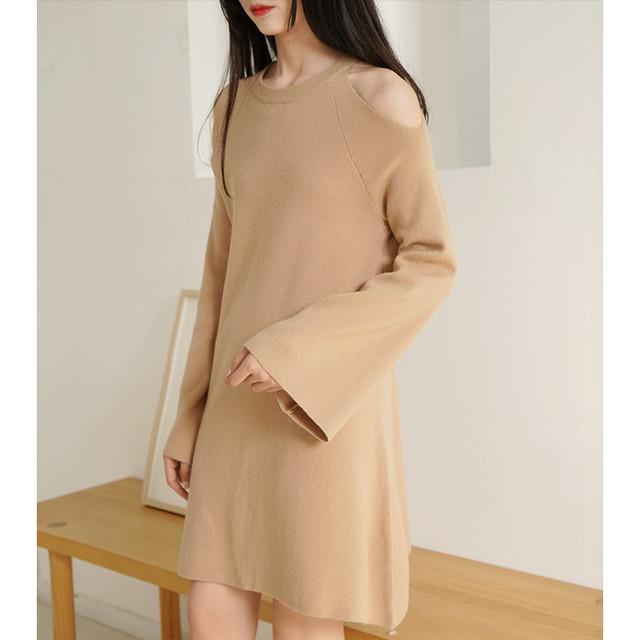【dress】フェアリーベアトップスウィート美しいラインワンピース 23116477