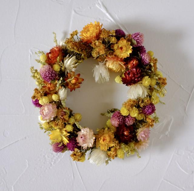 tsuyabana wreath リース 1
