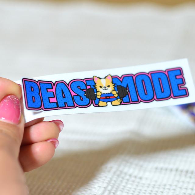 【BEASTMODE】ロゴ ステッカー