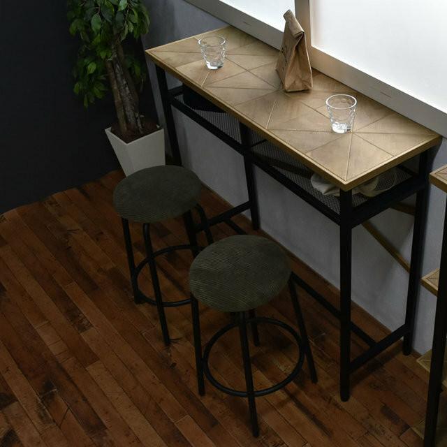 Kaleido Counter Table / 西海岸ヴィンテージスタイル カレイド カウンターテーブル