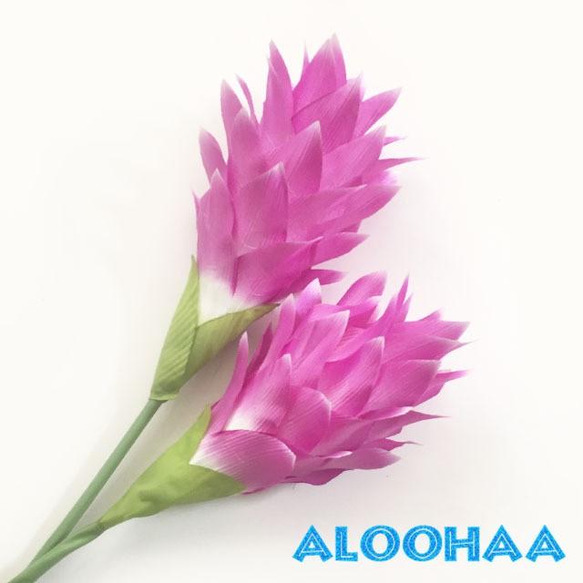 ジンジャーフラワー薄紫【造花】タヒチアンダンス フラダンス 衣装 材料