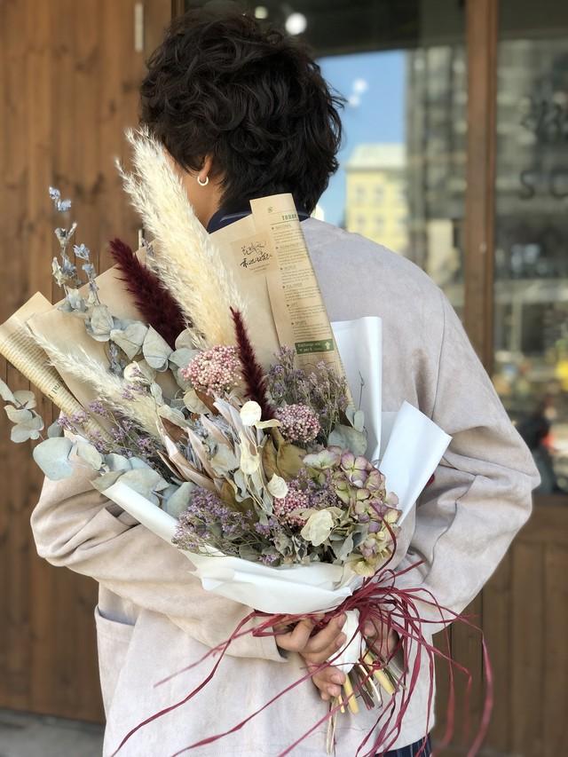 花束 ドライ フラワー