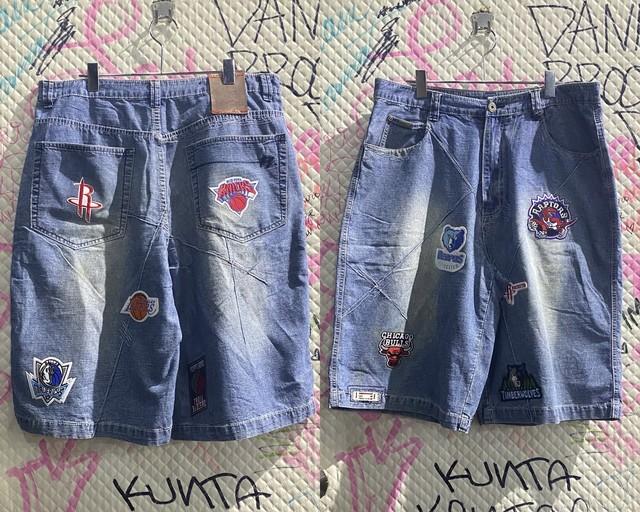NBA design half pants