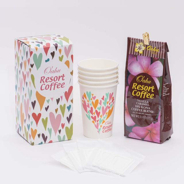 【オアフリゾートコーヒー】 バニラマカダミアナッツ155g×1個(送料無料)