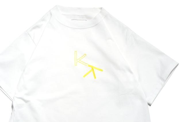 "【kudos】""KK"" T-Shirt WHITE"