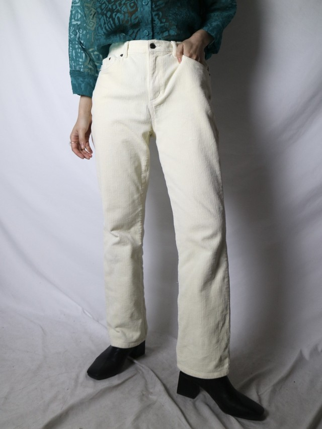 LAUREN JEANS Co. corduroy flare pants【0815】