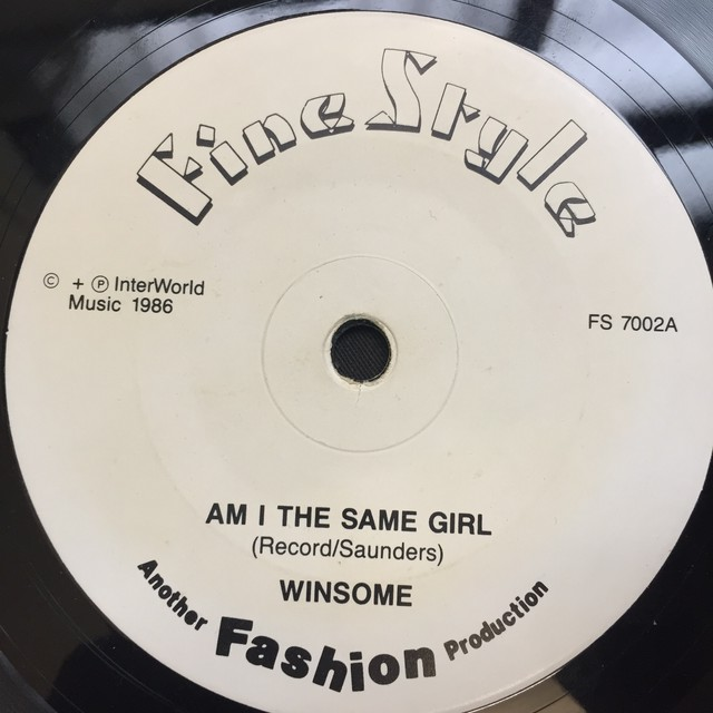 Winsome ‎– Am I The Same Girl