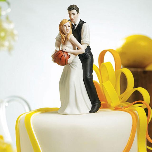 【お取り寄せ】ケーキトッパー【スポーツ編】★バスケ★2人でシュート!(MJ9212)