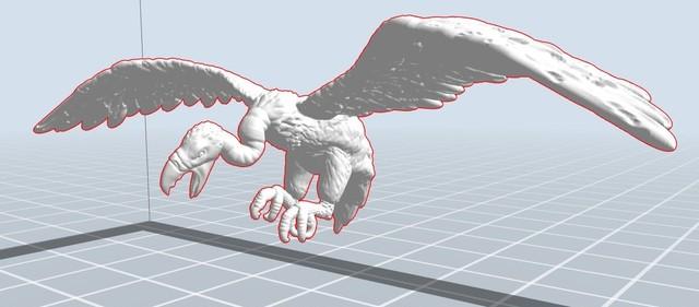 ヴァルチャー(1体入り)3Dプリントモデル