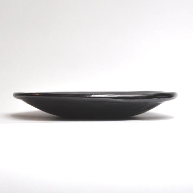 EREACHE エレアチェ 素焼き 黒 大皿 食器 メキシコ オアハカ No.21