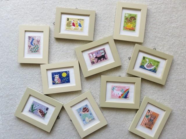 034 切手コレクション ハリネズミとスズラン