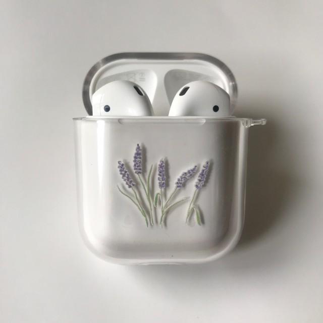 lavender Airpods case(original/pro)