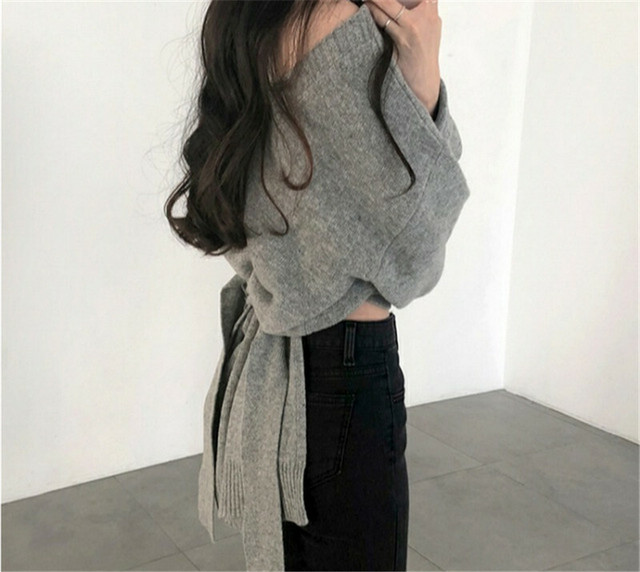 Back Ribbon Knit