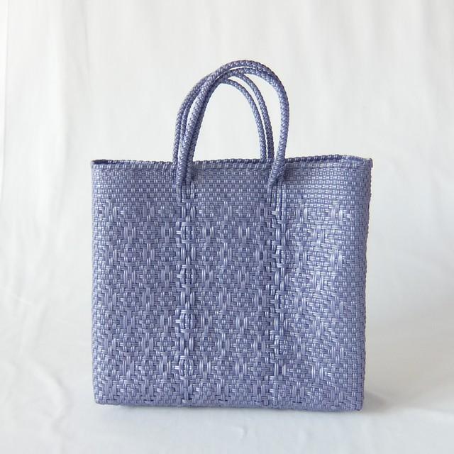 Letra - メルカドバッグ ROMBO - Metallic Purple - サイズS