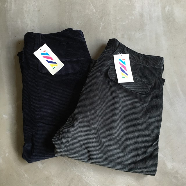 is-ness / AHA EDITORIAL WIDE CORDUROY PANTS