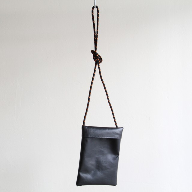 STILL BY HAND  【 mens 】leather shoulder