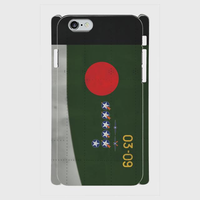 203空戦闘第303飛行隊-谷水竹雄上飛曹搭乗機 iPhoneケース