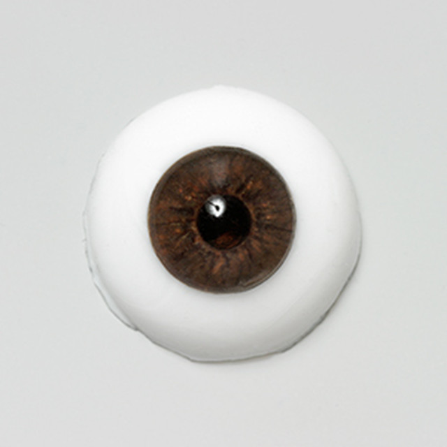 Silicone eye - 13mm Liquid Ebony