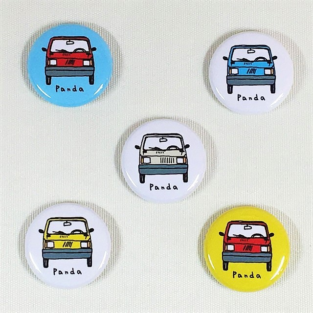 FIAT Panda Steel badge【1個】【税込価格】